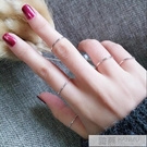 關節戒指女學生極簡約細尾戒日韓國網紅個性潮人食指指環  4.4超級品牌日