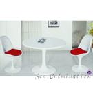 {{ 海中天休閒傢俱廣場 }}摩登時尚 國際名椅 造型師必備 A147-3 90cm圓桌(一桌二椅)