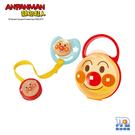日本 ANPANMAN 麵包超人-AN麵包超人安撫奶嘴組合M(3~6個月)LEC157798