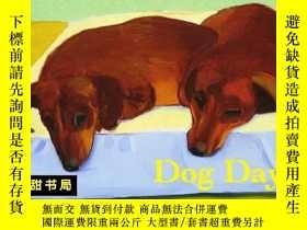 二手書博民逛書店【David罕見Hockney s大衛霍克尼畫集Dog Days狗狗的日子Y130612 Thames an