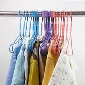 兒童衣架新生兒嬰兒寶寶小孩小朋友童裝衣架衣撐浸塑鐵絲曬晾衣掛 優家小鋪