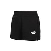 PUMA 基本系列Ess女4吋短褲(針織 三分褲 運動 慢跑 路跑  ≡排汗專家≡