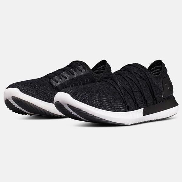 UNDER ARMOUR UA SPEEDFORM SLINGSHOT 2 男鞋 慢跑 編織 襪套 訓練 黑 【運動世界】 3000007-001