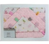 BEBE AMICO貝貝豆四季毯禮盒+安撫巾 (XLB399003) 粉1480 (附紙袋)