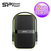 SP 廣穎 Armor A60 2TB USB3.1 2.5吋隨身行動硬碟
