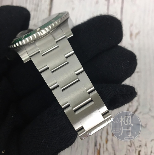 BRAND楓月 ROLEX 勞力士 116610LV 絕版 綠盤 綠水鬼 潛航者 SUBMARINE 手錶 腕錶 機械錶