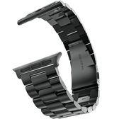 錶帶適用apple watch3不銹鋼錶帶蘋果手錶3代42mm38運動iwatch錶帶潮 野外之家