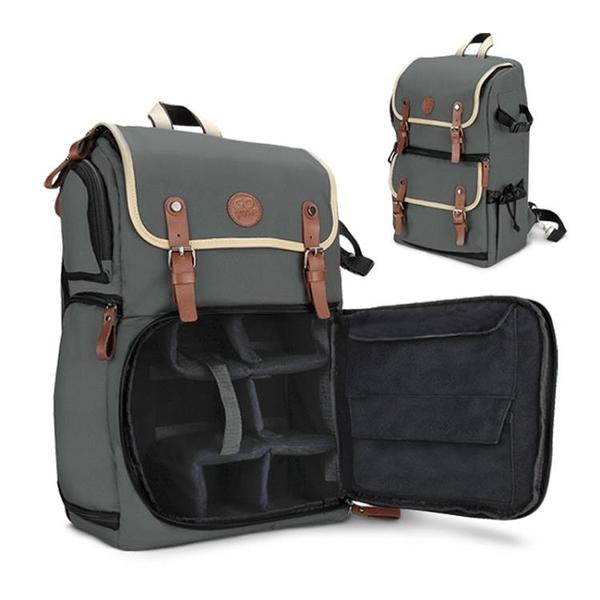 攝影背包 GO Groove CBK佳慧80d單反相機包便攜多功慧後背包攝影背包電腦LX 【快速】