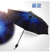 韓國創意折疊小清新黑膠防紫外線太陽傘LVV2250【KIKIKOKO】