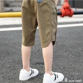 童裝男童夏天短褲兒童休閒薄褲子涼爽2020夏裝新款中大童
