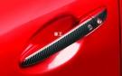 【車王汽車精品百貨】MZADA 馬自達 CX3 CX-3 不銹鋼 碳纖維紋 門把 拉手 防刮 保護貼