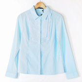 【MASTINA】燕子領設計襯衫-淺藍 0331-3
