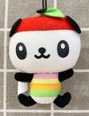 【震撼精品百貨】Pandapple Sanrio 蘋果熊貓~三麗鷗蘋果熊貓絨毛娃娃吊飾#13993