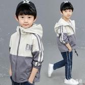 男童外套 2019年秋裝新款兒童裝中大童男孩沖鋒衣洋氣潮 YN1266『寶貝兒童裝』