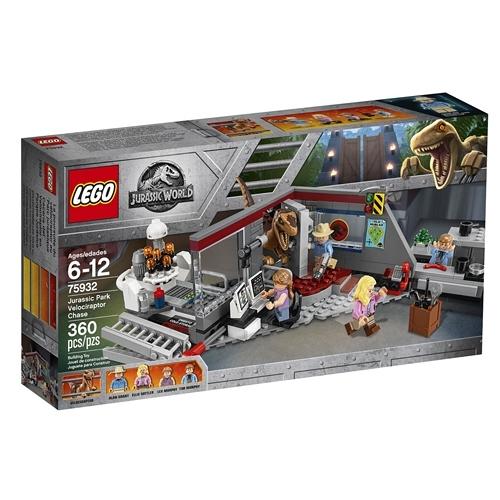 LEGO樂高 侏儸紀世界 Jurassic Park Velociraptor Chase_LG75932
