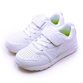 LIKA夢 DIADORA 迪亞多那 19cm-24.5cm 輕量3E寬楦慢跑鞋 純白騎士系列 白 7139 大童