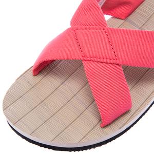 日式交叉休閒拖 粉紅色 M尺寸 型號96028