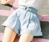 牛仔褲女2018夏季新款韓版高腰顯瘦短褲寬鬆學生闊腿褲熱褲潮 艾尚旗艦店