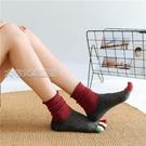五指襪時尚五指襪女純棉秋冬季高筒可愛堆堆襪女韓版學院風百搭長筒棉襪 快速出貨