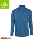 【Ratops 瑞多仕 男Thermolite暖衣(前開袋)《潛水藍》】DB6008/中層衣/保暖長袖/休閒長袖