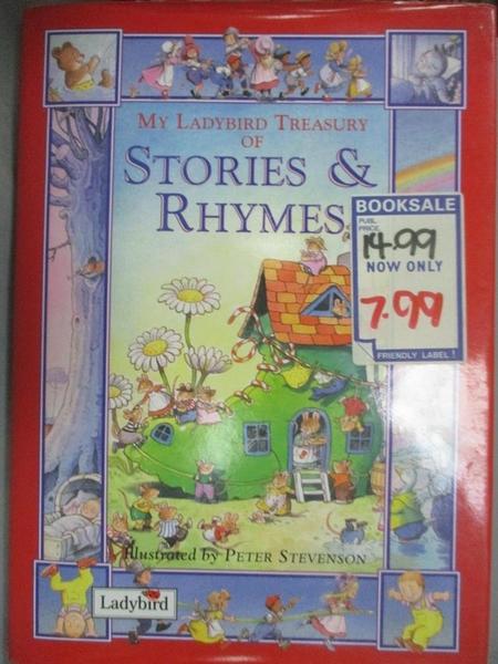 【書寶二手書T1/兒童文學_WFS】My Ladybird Treasury of Stories & Rhymes_Peter Stevenson