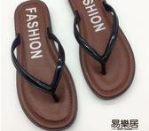 拖鞋人字拖鞋女夏2018新款韓版簡約時尚