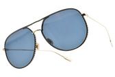 Dior 太陽眼鏡 BYDIOR 2M2A9 (金-藍鏡片) 經典飛行款 墨鏡 #金橘眼鏡