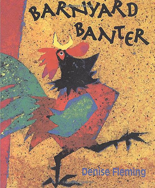 【麥克書店】BARNYARD BANTER /英文繪本附CD《動物.趣味》