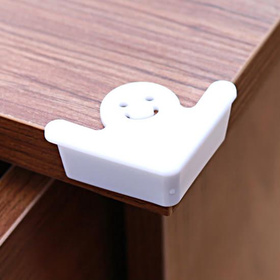 米菈生活館?【M171】鏤空造型防撞貼(四入) 加厚 安全 兒童 桌腳 防護 保護 柔軟 厚實 桌面