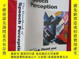 二手書博民逛書店The罕見Handbook of Speech Percepti