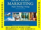 二手書博民逛書店Services罕見Marketing: People Technology Strategy (7th Edit