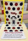 【震撼精品百貨】Peko 不二家牛奶妹~不二家長方巾-米花#41010