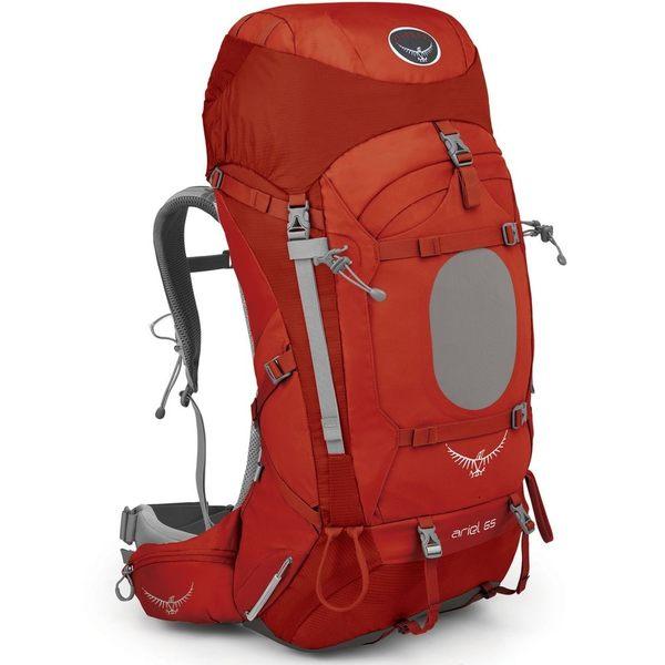 [好也戶外]OSPREY ARIEL 65 輕量登山背包 女/紅/M No.023065-322