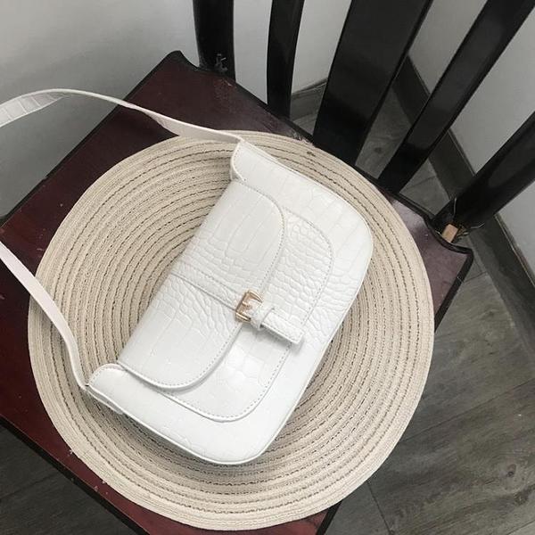 夏季復古腋下包小眾設計單肩包包女2021新款夏季百搭手提包法棍包 茱莉亞