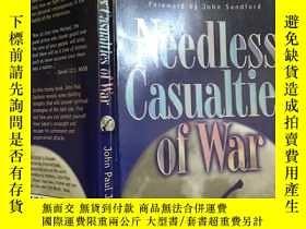 二手書博民逛書店Needless罕見casualties of warY429456 John paul jackson Ki