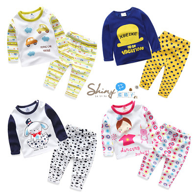 【R1832】shiny藍格子-嬰幼館.冬裝新款男女童多款可愛加絨加厚保暖套裝