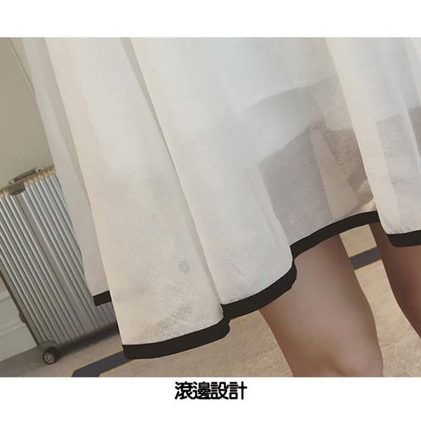 *孕味十足。孕婦裝*現貨+預購【COH600402】空靈氣質輕柔雪紡背後心機設計孕婦洋裝 兩色