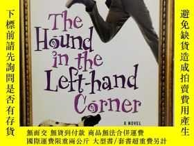 二手書博民逛書店作者簽名本罕見The Hound in the Left-Hand Corner by Giles Waterfi