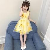 全館83折兒童女童夏裝連身裙2019新款3-4三5四6五7六8十9歲小女孩公主裙子
