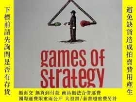 二手書博民逛書店Games罕見Of Strategy (third Editio