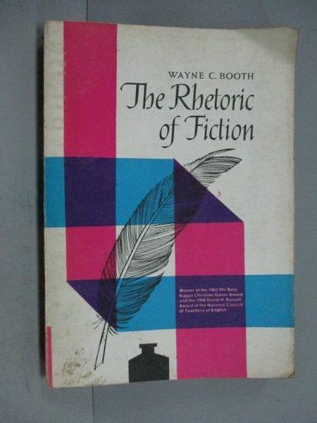 【書寶二手書T3/原文小說_IOC】The Rbetoric of Fiction