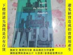 二手書博民逛書店guide罕見to modern english 12Y1266