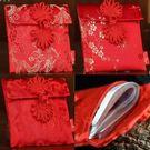 2018新品紅包袋  小號款  高檔刺繡綢緞紅包袋 喜慶紅包袋 想購了超級小物