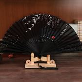 拂柳古風扇子折扇 中國風女式復古典真絲綢 舞蹈扇夏季和風日用扇下殺購滿598享88折