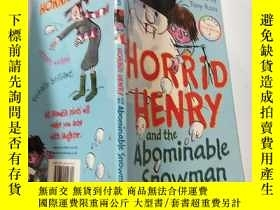 二手書博民逛書店horrid罕見henry and the abominable snowman:可怕的亨利和可惡的雪人:Y2