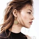大小圓圈耳環女氣質韓國個性百搭歐美誇張耳墜耳飾潮人巴洛克耳環(快速出貨)