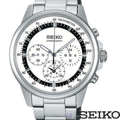 SEIKO 精工錶 三眼計時男錶 SBTQ073J 7T11-0BH0S 免運/40mm