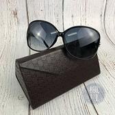 BRAND楓月 GUCCI 古馳 D28JJ 黑色 經典 愛心外雙C邊 圓形 墨鏡 太陽眼鏡 精品 配件