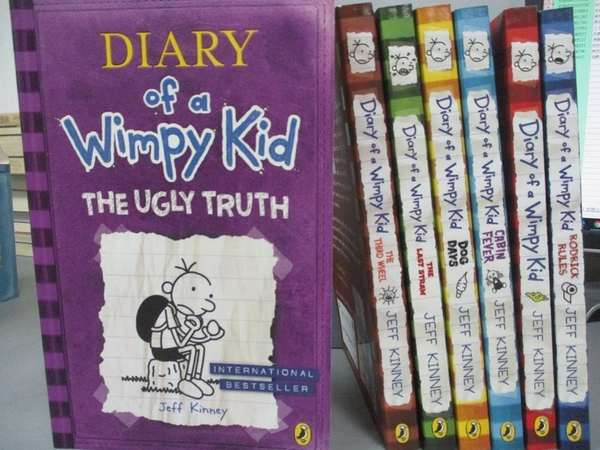 【書寶二手書T2/原文小說_EVE】Diary of a Wimpy Kid 7 Copy Slipcase_Jeff Kinney