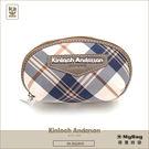 Kinloch Anderson 金安德森 皮夾 英式學院 咖啡 經典格紋女夾 零錢包 KA151211 MyBag得意時袋